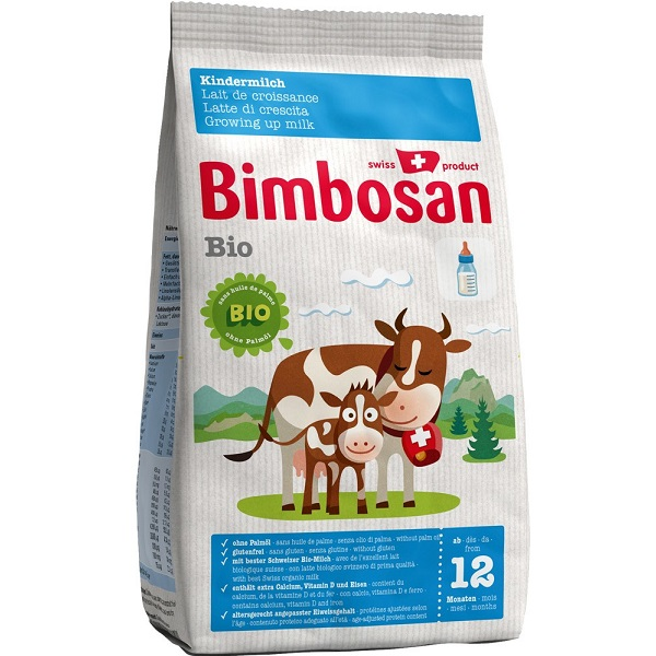 Bimbosan suitable from 12 month NO Palmoil