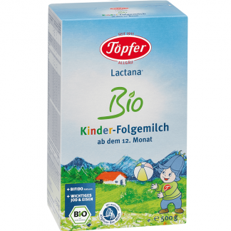 Topfer BIO Lactana from 12 month 500 gr.